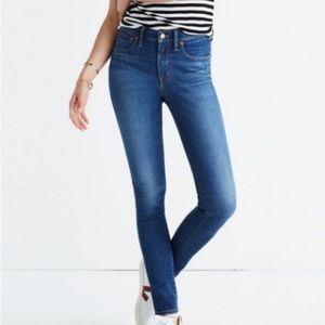 Madewell 9 Inch High-Rise Skinny Jean